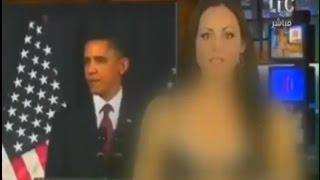 بالفيديو.. مذيعه أمريكيه تخلع ملابسها تماماً علي الهواء لحظة اعلان فوز ترامب بالرئاسه.. (+18)