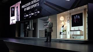 LG Press Conference at CES 2018: AI OLED TV