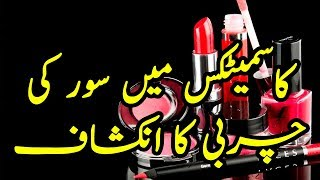 Use Of Pork In Cosmetic Items In All Over The World | Haram Charbi Ka Cosmetics Mai Istemal | TUT
