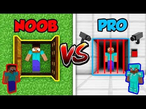 Minecraft NOOB vs. PRO: PRISON ESCAPE in Minecraft!