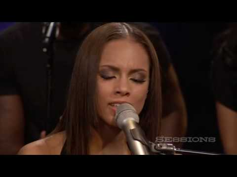 Alicia Keys Empire State Of Mind Part II Broken Down LIVE AOL Sessions