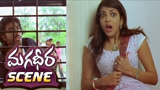 Ram Charan Teasing Kajal Aggarwal About His Lover || Magadheera Movie || Geetha Arts