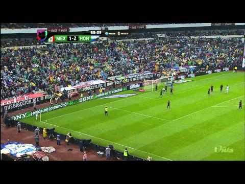 MEXICO 1 VS HONDURAS 2 Segundo Tiempo partido eliminatorio 6 septiembre 2013