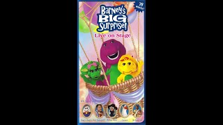Barney's Big Surprise (2000 VHS Rip)