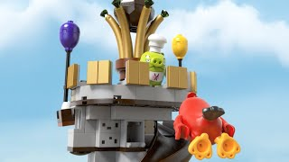King Pig's Castle - LEGO Angry Birds the Movie - Product Animation 75826