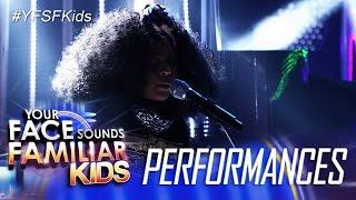 Your Face Sounds Familiar Kids: Sam Shoaf as Alicia Keys- If I Ain
