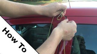 How to unlock a car | 4K