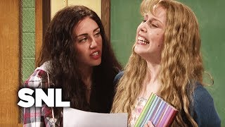 Poetry Class with Miley Cyrus - SNL