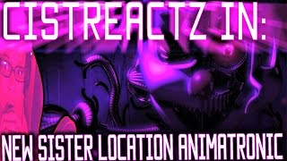 ENNARD? FNAF SISTER LOCATION NEW ANIMATRONIC TEASER ANALYSIS + IN DEPTH + THEORIES!