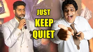 Abhishek Bachchan Awesome Reply over Tanmay Bhat Controversy | Housefull 3 Promotions | Mango News