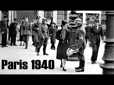 Xxx Mp4 Paris 1940 Deutsche Besatzung German Occupation L´Occupation Allemande Film Color Bw 3gp Sex