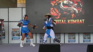 Mangame Show - Fréjus - 2016 - Concours Cosplay Dimanche - 07 - Mortal Combat - Street Fighter II