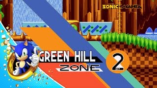 Sonic Mania Green Hill Zone Gameplay w/ Commentary