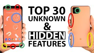 Top 30 Unknown / Hidden Google Pixel 4 XL Features!