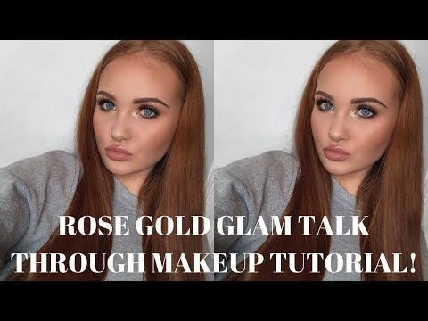 Xxx Mp4 ROSE GOLD GLAM MAKEUP TUTORIAL Abigail Tamsin 3gp Sex