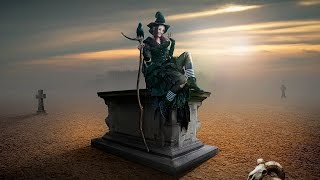 Tomb Fantasy Photoshop Manipulation Tutorial | Photo Effects