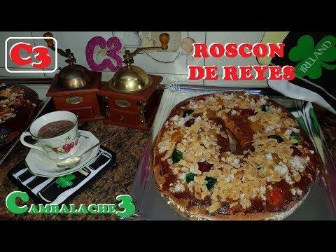 ROSCON DE REYES RECETA TRADICIONAL LA MEJOR RECETA QUE ENCONTRAREIS