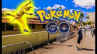 Pokémon Go Parkour - Worst fail we've ever caught on camera! Behind The Scenes!
