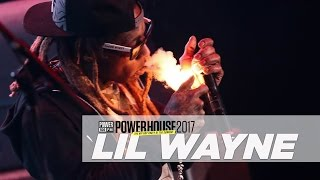 Lil Wayne Performs 'A Milli' LIVE At Powerhouse 2017