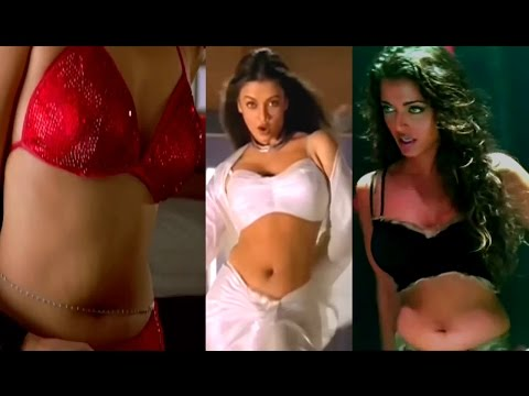 OMG! Aishwarya Rai  Hottest Cleavage Navel Compilation 2017