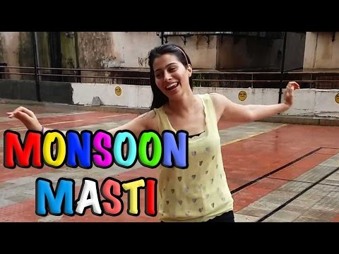Aparna Dixit enjoys her monsoon