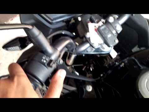 Repairing Honda CBF 125 indicators