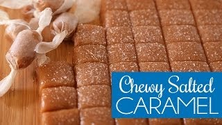 Chewy Salted Caramel Bites