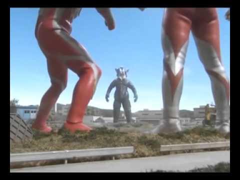 Ultraman e Ultraman Mebius vs Mefilas Luta completa full fight