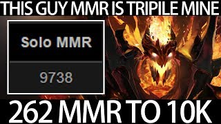 This guy MMR is Triple Mine - Paparazi Top 1 Solo Rank Shadow Fiend Dota 2