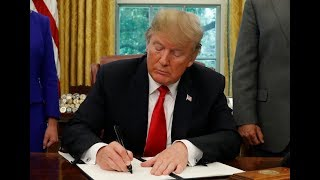 WATCH: Trump signs executive order on health care price transparency