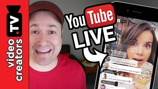 How To do a Mobile Live Stream on YouTube