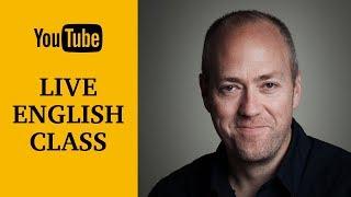 Live English class | October 17, 2017 | Canguro English
