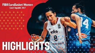 Latvia v Italy - Highlights - FIBA EuroBasket Women 2017