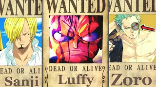 Monster Trio Bounties After Wano  One Piece Chapter 928+