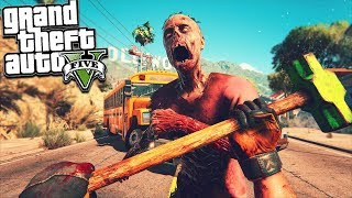GTA 5 ZOMBIE MOD: BIGGEST BASE WARS EVER! (GTA 5 Mods)