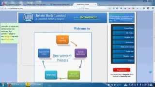 Janata bank job circular how to apply online