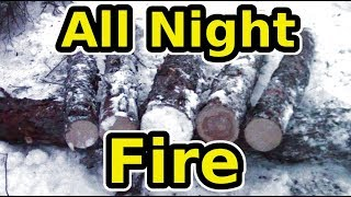 Learn The Siberian All Night Log Fire