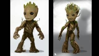 Designing Baby Groot - Guardians Of The Galaxy Vol. 2 (2017)