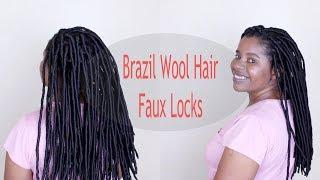 How to: Brazilian Wool Faux Locks Tutorial
