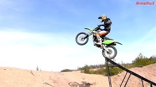 Kawasaki KX250F - Ramp Jumping [sunday chill edit]