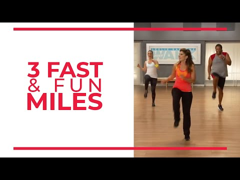 3 Fast & Fun Miles Mile 3 Walk at Home Workout