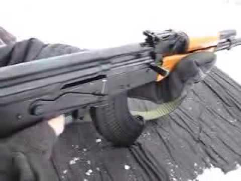 tiro de Ak 47
