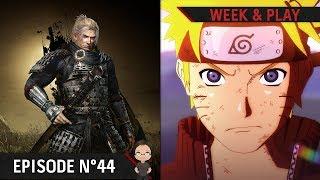 Week & Play #44 : Nioh 2, folie Switch, nouveau jeu CyberConnect 2 et Bonne Année 2018 !