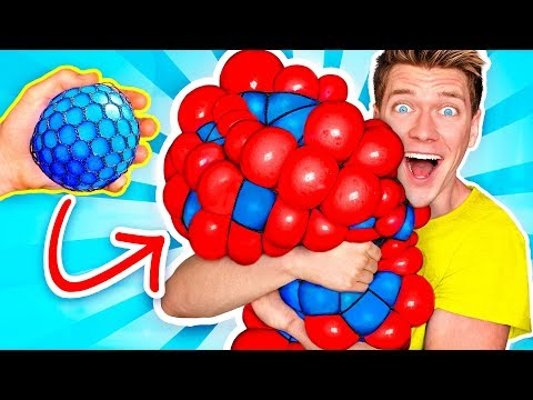 10 Weird Stress Relievers For Back To School Learn How To Diy Squishy Slime School Supplies Prank