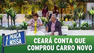 Matheus Ceará conta que compro carro novo | A Praça É Nossa (01/06/17)