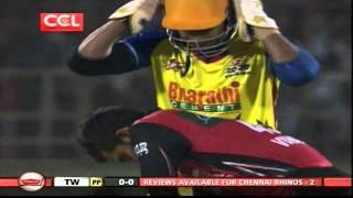 CCL 2 Telugu Warriors Vs Chennai Rhinos ING-2 OVR-01