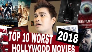 TOP 10 WORST HOLLYWOOD MOVIES 2018 - Review 7 - #SHAWNSYAH   Movie Review Malaysia