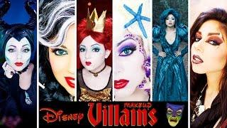 Ultimate DISNEY VILLAINS Makeup Compilation!   Charisma Star