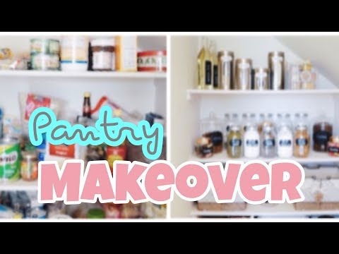 Mempercantik Pantry Dapur | PANTRY MAKEOVER ❤ | Organize With Me!
