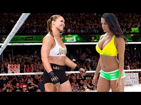Ronda Rousey versus Nikki Bella WWE Full Match Video Breakdown by Paulie G